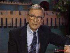 """A few months before his death in on this day in 2003, Fred Rogers recorded a video message for those who grew up watching """"Mister Rogers' Neighborhood."""""""