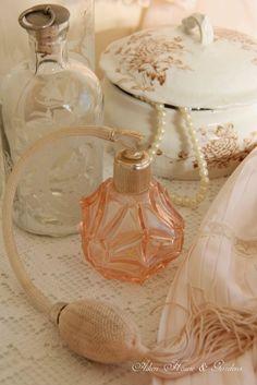 Aiken House & Gardens: Soft & Romantic dresser