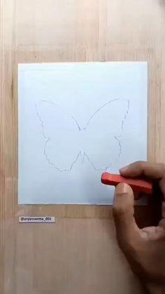 Art Drawings For Kids, Art Drawings Sketches Simple, Easy Drawings, Oil Pastel Drawings Easy, Oil Pastel Art, Pastel Paintings, Canvas Painting Tutorials, Diy Canvas Art, Crayon Drawings