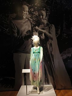 The Gina Fratini dress worn by Elizabeth Taylor for her second wedding to Richard Burton.