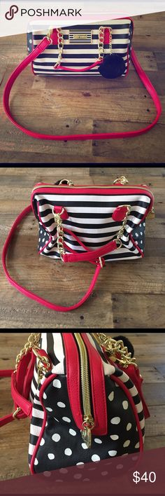Betsey Johnson Multicolor Speedy Crossbody Purse Carried a couple of times perfect condition Betsey Johnson Bags Satchels