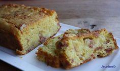 Gezond leven van Jacoline: Cake met spek, kaas en ui