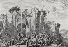 Phillip Medhurst presents Bowyer Bible Gospels print 3412 The wise mens offerings Matthew 2:11 Kussell on Flickr.  A print from the Bowyer Bible a grangerised copy of Macklins Bible in Bolton Museum and Archives England. Photograph of a print in the Phillip Medhurst Collection (owned by Philip De Vere) at St. Georges Court Kidderminster.