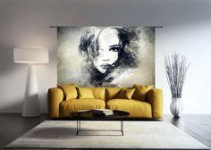 Urban Cotton Wandkleed The Look, 145 x - Sculpture Art, Sculptures, Garden Architecture, 2nd Floor, Bedroom Wall, Living Room Designs, Living Rooms, House Design, Urban