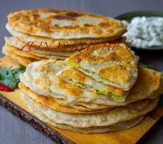 Bolani- Afghanskt fyllt bröd - ZEINAS KITCHEN Veggie Recipes, Bread Recipes, Cooking Recipes, Empanadas, I Love Food, Good Food, One Pan Chicken, Swedish Recipes, Bread Baking