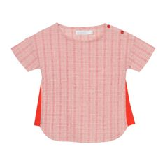 Eastern Striped Blouse Oaks of acorn Children- A large selection of Fashion on Smallable, the Family Concept Store - More than 600 brands. Boat Neck Tops, Red Blouses, Short Girls, Acorn, Short Sleeve Blouse, Kids Girls, Fashion Brands, Kids Fashion, Children