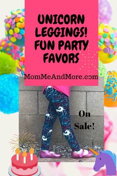 Unicorn Leggings Make Fun Party Favor Ideas! Mommy and Me Leggings On Sale Now at MomMeAndMore.com #mommeandmore #mommyandme #unicornparty #unicorngiftideas #unicorns #unicorn #leggings #lularoe #kidsunicornstyle #unicornbirthdayparty #birthdaypartyfavors #unicornoutfits Unicorn Leggings, Blue Leggings, Girls In Leggings, Leggings Are Not Pants, Unicorn Themed Birthday Party, Birthday Party Favors, Unicorn Party, Mommy And Me Outfits, Cute Outfits For Kids