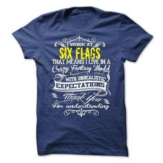 Work At Six Flags Hoodies - New - #tshirt bemalen #winter sweater. OBTAIN LOWEST PRICE => https://www.sunfrog.com/LifeStyle/Work-At-Six-Flags-Hoodies--New.html?68278