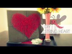 DIY String Heart - YouTube