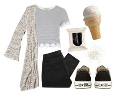 """""""eh"""" by versaucey on Polyvore featuring Topshop, Abercrombie & Fitch, Converse, H&M and Marc by Marc Jacobs"""