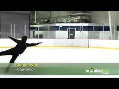 Ice Skating - The Axel Jump - YouTube