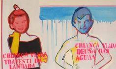 Travesti de lambada e deusa das águas, de Bia Leite, 2013 (Foto: Divulgação)