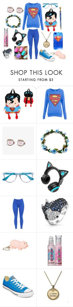 """""""Henry Cavill:*Exists* Me:*Blushes*"""" by supernova-1000 ❤ liked on Polyvore featuring DC Shoes, Pull&Bear, Pusheen, Ray-Ban, Brookstone, Bling Jewelry, Topshop, Victoria's Secret and Converse"""