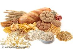Carbohydrates make it to the top of the list of macronutrients in a healthy diet because the body requires it in the largest amounts. According the Reference published by the USDA, 45 to of the daily calories should come from carbohydrates. Protein Bread, Protein Foods, High Protein Recipes, Healthy Recipes, Healthy Fats, Healthy Weight, Foods For Heart Health, Health Foods, Oral Health