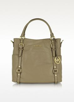 Michael Kors Bedford Genuine Leather North/South Tote | FORZIERI