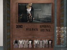 REVERIE - outfit/special packs/fatpack, 350L each/750L each/1250L  http://seraphimsl.com/2016/01/25/free-yourself-at-uber/