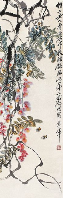 Qi Baishi's Vine  http://www.flickr.com/photos/chinese-history-and-art-museum/