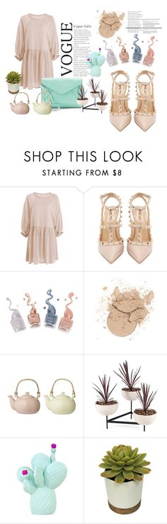 """young and spring"" by dasha-stefa on Polyvore featuring мода, Valentino, Apt. 9, Bloomingville и Goodnight Light"