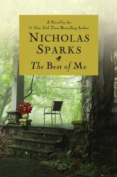 "Nicholas Sparks' ""The Best of Me."" This is my 1st book by the amazing Sparks and I couldn't keep myself from turning the page, even when I knew I needed to go to sleep."