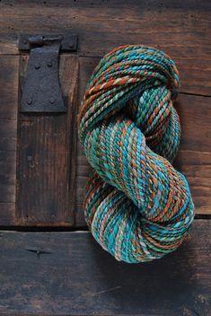 Wool Yarn, Knitting Yarn, Spinning Yarn, Hand Spinning, Yarn Color Combinations, Yarn Inspiration, Yarn Stash, Knitting Supplies, Weaving Projects