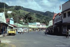 Levuka, the old colonial capital of Fiji. Completely off the beaten track. (October 2006)