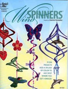 plastic canvas wind spinners pattern