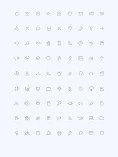 Simple (Outline Icons) on Behance