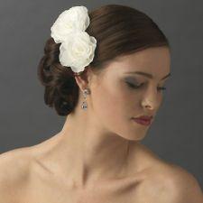 Set of 2 Dainty Ranunculous Flower Bridal Hair Clips - Wedding Floral Accent. SALE 50% Discount!