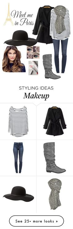 """""""Meet me in Paris"""" by hanna12101 on Polyvore featuring J Brand, Brewster Home Fashions, Free People, maurices, ULTA and Charlotte Russe"""