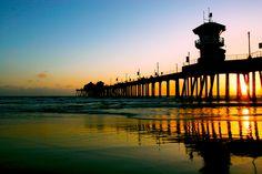 City of Huntington Beach in California