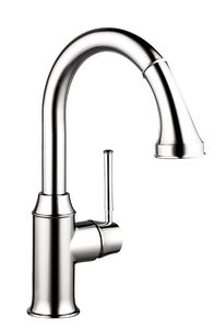 Hansgrohe Talis® Pull-Down Prep Kitchen Faucet with Single Lever Handle in…