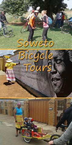 If you are in Johannesburg, check out Soweto by bicycle with local resident Sipho as he takes you around his neighbourhood! Day Tours, The Neighbourhood, Bicycle, Adventure, Check, Nature, Naturaleza, Bicycle Kick, Bike