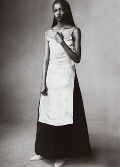 Oluchi Onweagba by Steven Meisel - Vogue Italia August 1998