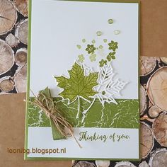 bloghop in herfstsfeer. Colorful season. Color suite Stampin'Up!. Fall, autumn card