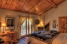 Dogwood Room at Wild Horse Inn, Colorado State Of Colorado, Colorado Mountains, Cabin Ideas, House Ideas, Wood Ceilings, Your Perfect, Wild Horses, Bed And Breakfast, Cabins
