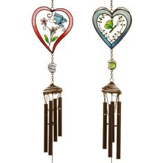 Heartl Design Novelty Metal/Glass Windchime Listing in the Wind Chimes & Gongs,Ornaments,Garden, Yard & Plants,Home & Garden Category on eBid United Kingdom | 149070640
