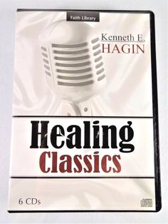 Rev. #Pastor Kenneth E. #Hagin #Christian #Ministries #Faith Library #Healing Classics six (6) #audio audio-book #CD CD-ROM #disc set #religious and #spiritual teaching #sermon #devotional message series, brand new and unused in original manufacturer's clear and black clam-shell case with plastic sealed protective packaging and original paper cover art insert…