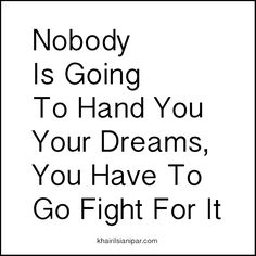 SDR 1027: Nobody Is Going To Hand You Your Dreams, You Have To Go Fight For It - http://www.khairilsianipar.com/2016/11/15/nobody-is-going-to-hand-you-your-dreams-you-have-to-go-fight-for-it/