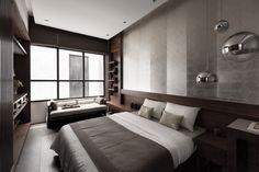 55 trendy Ideas for bedroom hotel design loft Contemporary Bedroom, Modern Bedroom, Home Bedroom, Bedroom Decor, Hotel Room Design, Bedroom Layouts, Suites, Trendy Bedroom, Luxurious Bedrooms