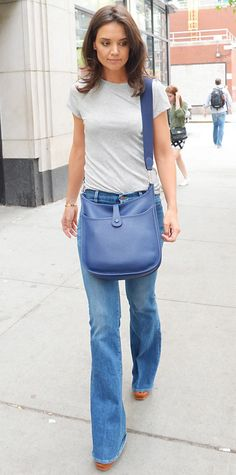 Look of the Day - June 15, 2014 - Katie Holmes in MiH from #InStyle