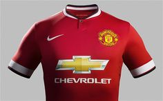 Manchester United reveal new kit for 2014-15 Premier League season. #ManU #nike #chevrolet