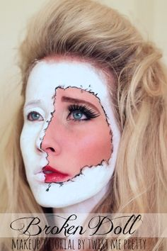 The Third Eye - Freaky Lips Halloween Tutorial | Halloween ...
