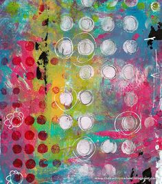 Have I told you how much I love my gelli arts plate? I especially love finger painting on my gelli plate, because I am naturally messy. I also especially love my new *supersize* gelli plate. -- The Kathryn Wheel: Gelli printing, journal classes and a bit of this and that.