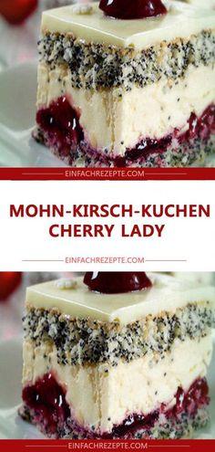 MOHN-KIRSCH-KUCHEN CHERRY LADY 😍 😍 😍