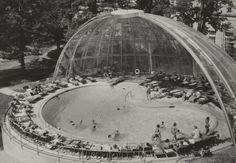 Who remembers the domed pool at the French Lick Springs Hotel? #Indiana #Travel