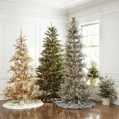 Beautiful Lighted Tree options to fit all styles.