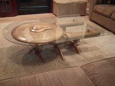 Star Trek Enterprise Coffee Table :-)