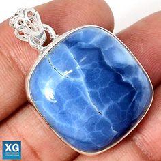 Owyhee Opal 925 Sterling Silver Pendant Jewelry SP62721