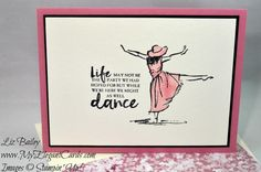 My Elegant Cards - Liz Bailey - Independent Stampin' Up! Demonstrator - Beautiful You - CAS