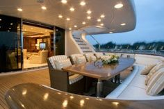 Private yachts - inside of private yacht and interior luxury yacht. Get best images of luxury yacht interior and private yacht inside images. Yacht Luxury, Luxury Yacht Interior, Boat Interior, Luxury Travel, Luxury Boats, Yacht Design, Buy A Boat, Private Yacht, Yacht Boat